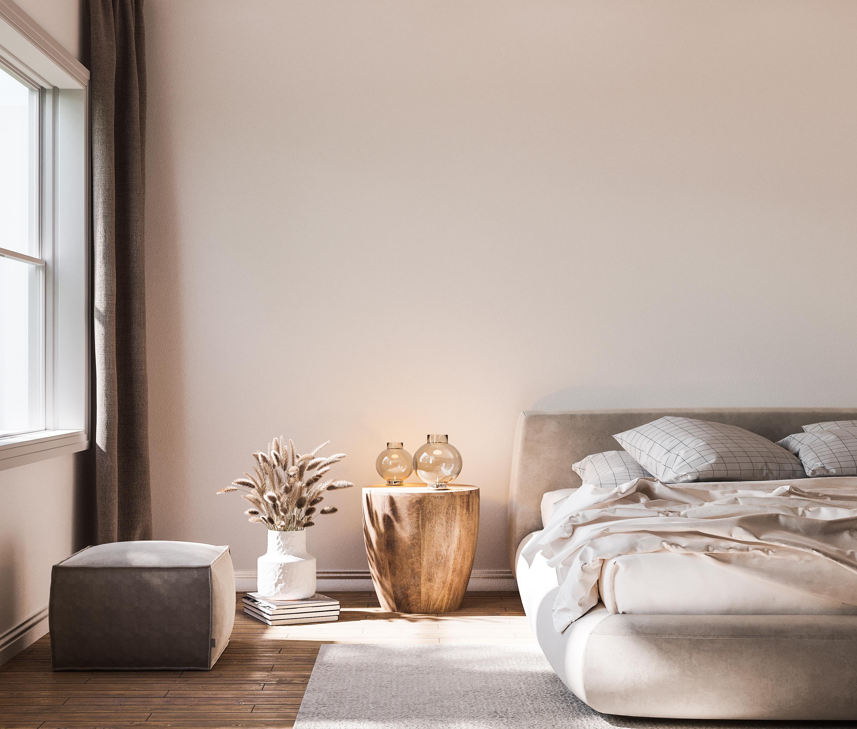 【寝室のデザイン】ぐっすり眠るためのインテリアのポイントの画像